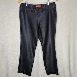 Krazy Larry Leggings Faux Leather Pull On 10